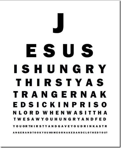 GODSBLOG.ORG JESUS EYE CHART